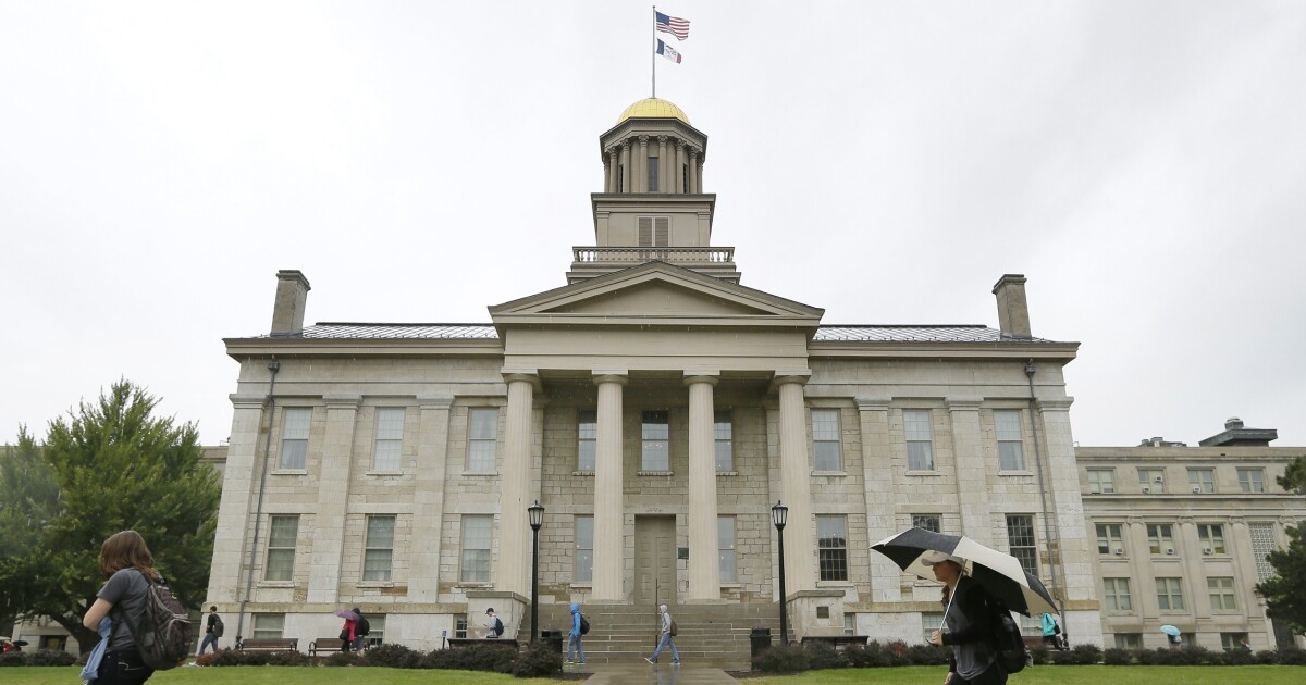 Code yellow: University of Iowa restricts speech, disbands Christian club