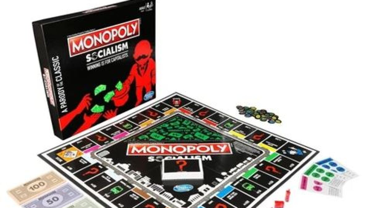 Monopoly, like socialism, wants to take your money