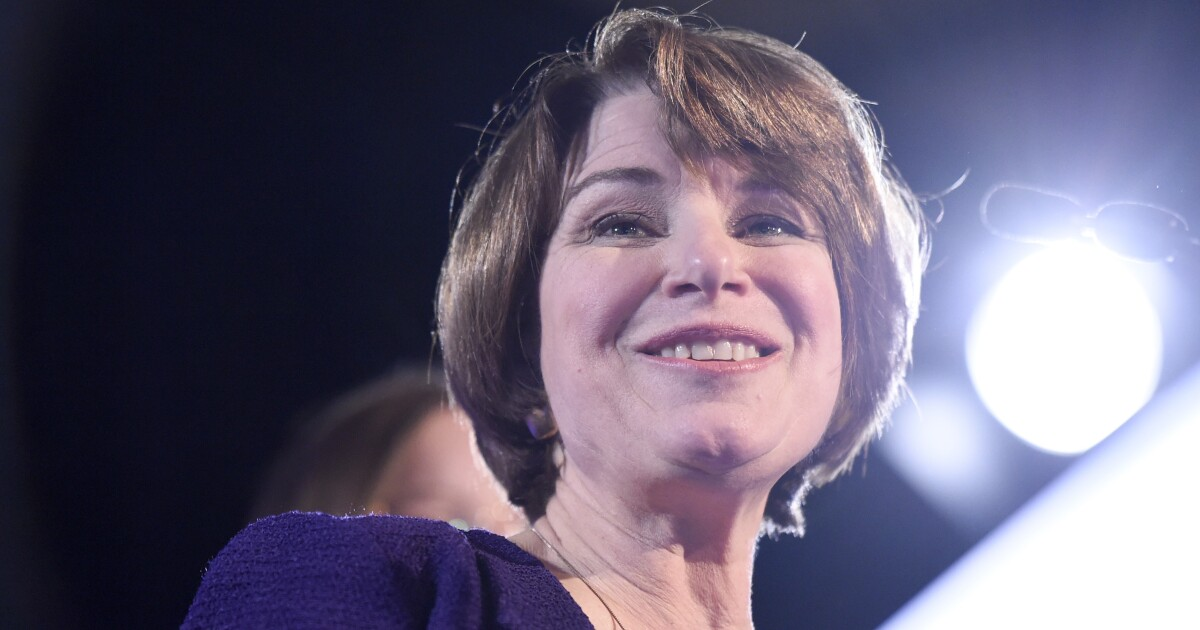 Amy Klobuchar announces 2020 campaign offering a vision of a renewed sense of community