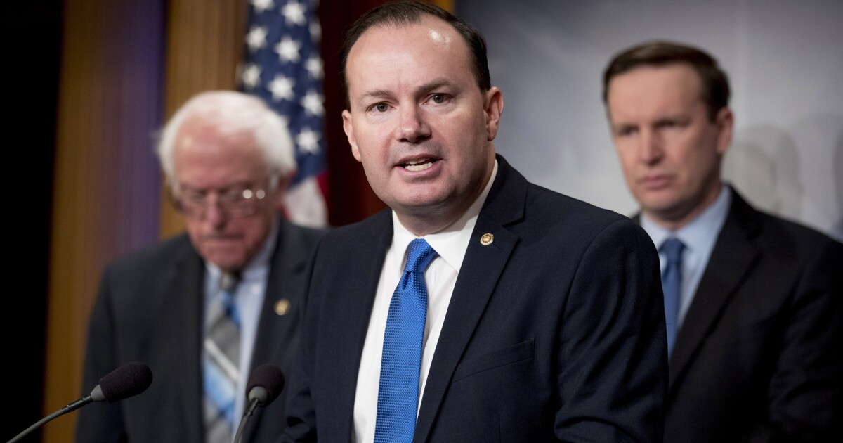 Mike Lee blasts GOP and Democrats for 'shifting away' from Constitution at CPAC
