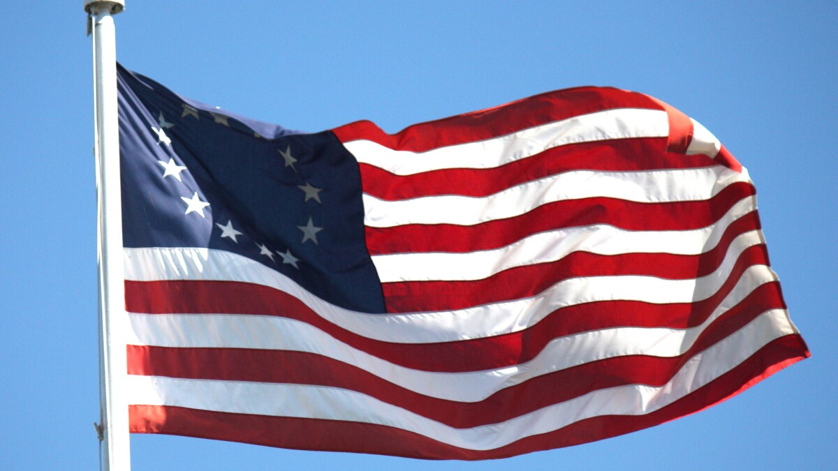 'Symbol for hate groups': Couple told to remove Betsy Ross flag from soccer game