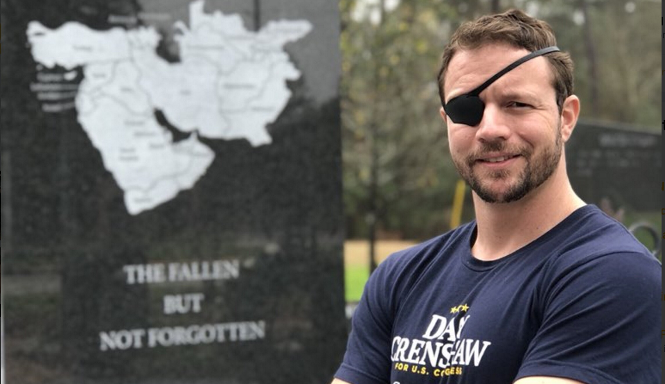 d54025b0fa8 Former Navy SEAL Dan Crenshaw and current GOP primary candidate in Texas is  a true public servant
