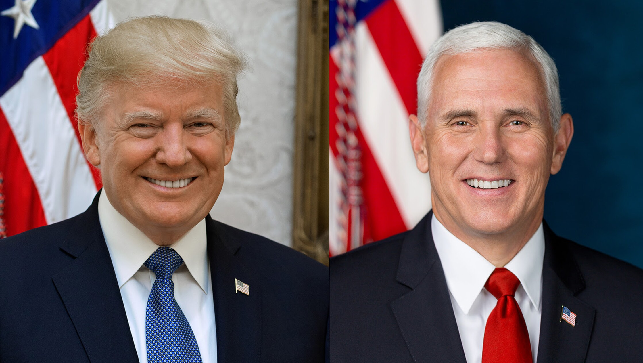 Image result for trump pence pics