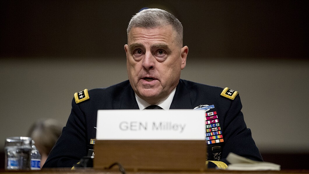 Failure to pass defense budget would be 'reckless,' says Trump's pick to head Joint Chiefs