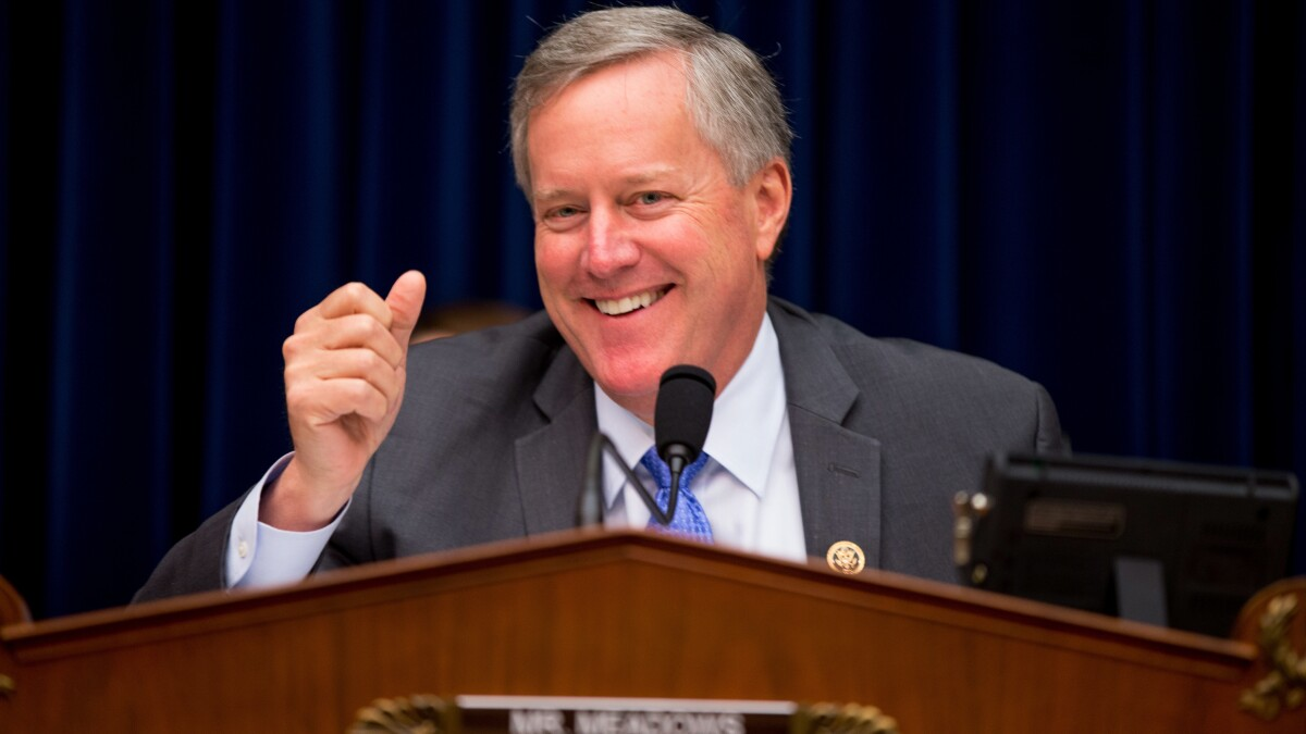 'That's what he wants': Republicans see Mark Meadows angling for White House chief of staff