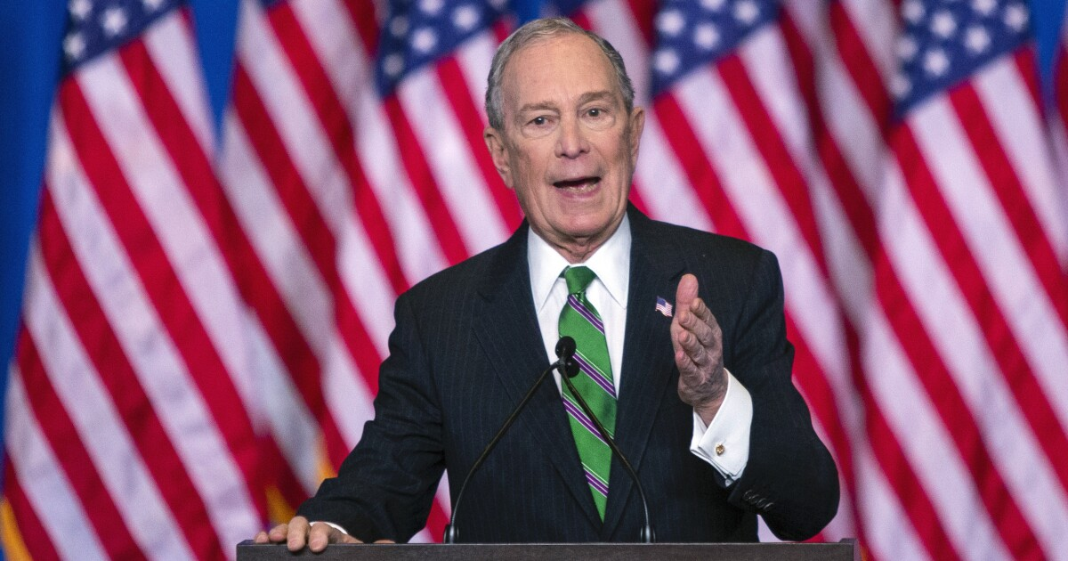 Michael Bloomberg is breaking campaign finance law before your very eyes