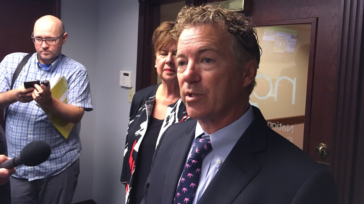 Rand Paul: Obama did 'hundreds and hundreds of targeted killings' without asking Congress