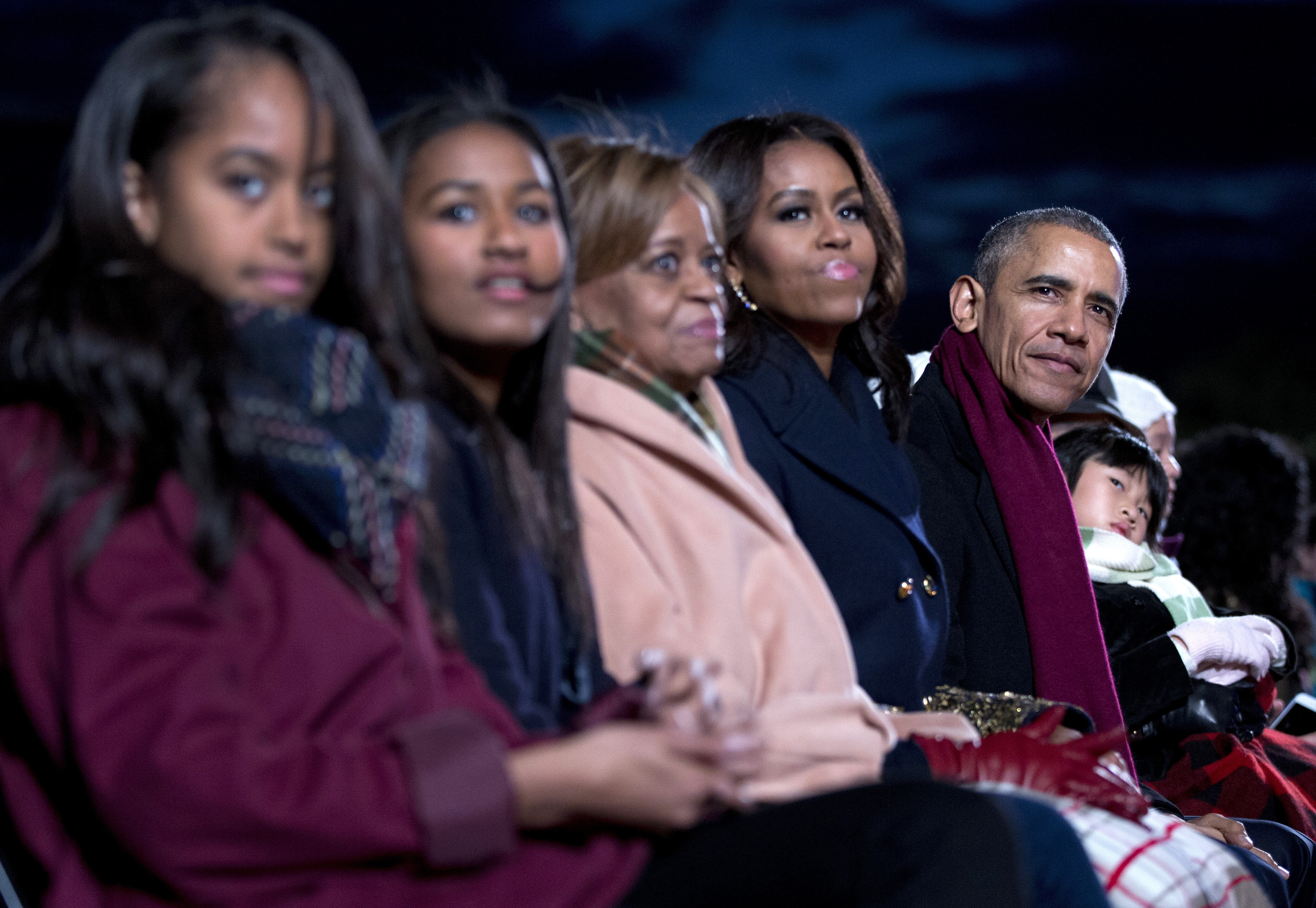 No Christmas presents for the first daughters