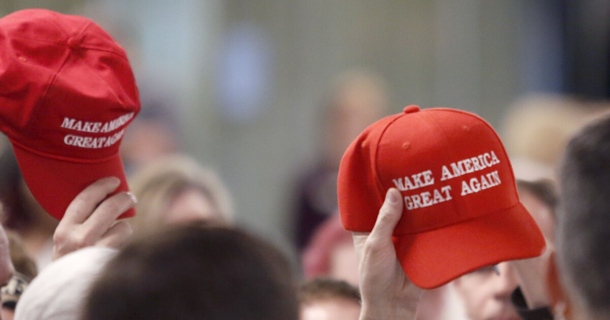 High school blurs out MAGA hats in yearbook