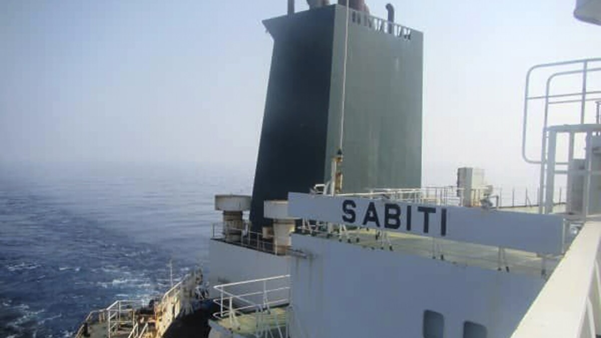 Missiles hit Iranian oil tanker off coast of Saudi Arabia