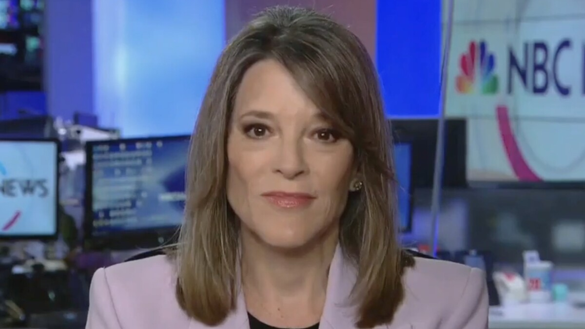 'We might be in trouble here': Marianne Williamson slams Democratic primary debates
