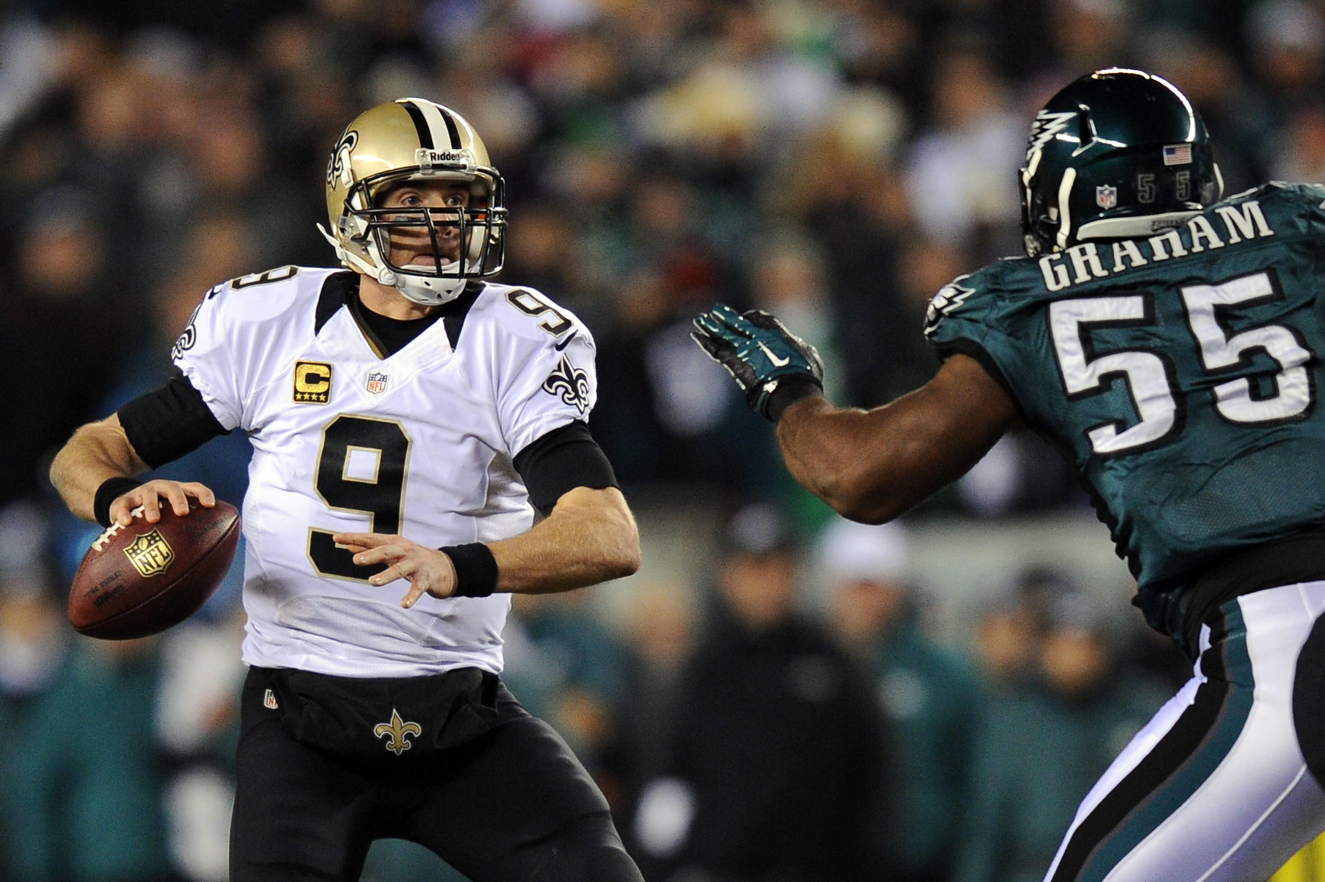 low priced 1bd54 34e8a Wild Card Playoffs - New Orleans Saints v Philadelphia Eagles