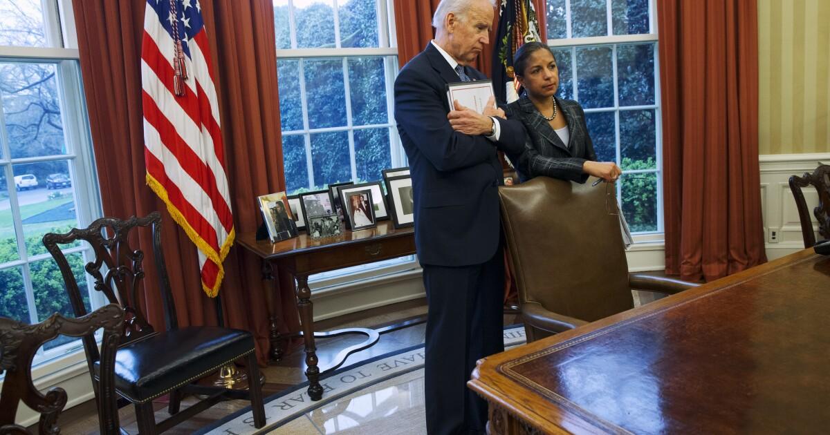 Susan Rice`s bid for veep includes hugging `sweetheart`...
