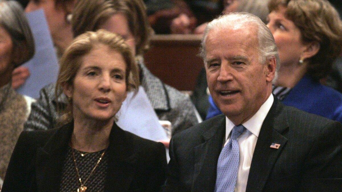 'We need Joe Biden': JFK daughter endorses Biden 2020 bid