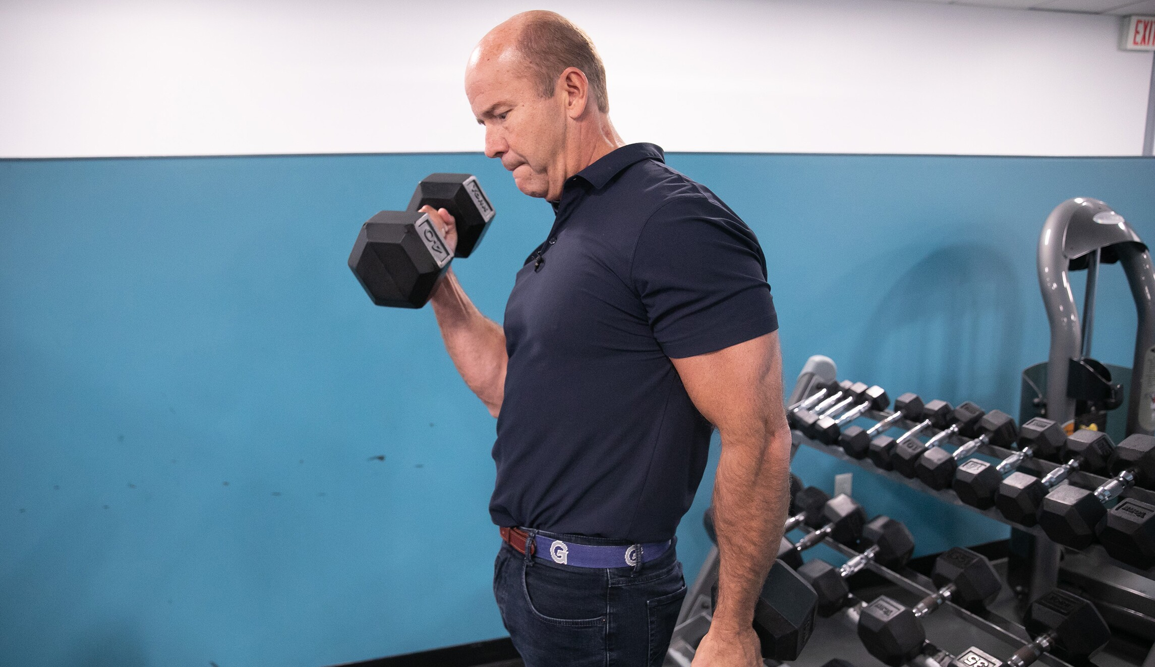 The strongest 2020 Democrat: John Delaney deadlifts 350 lbs and works out constantly in Iowa hotels