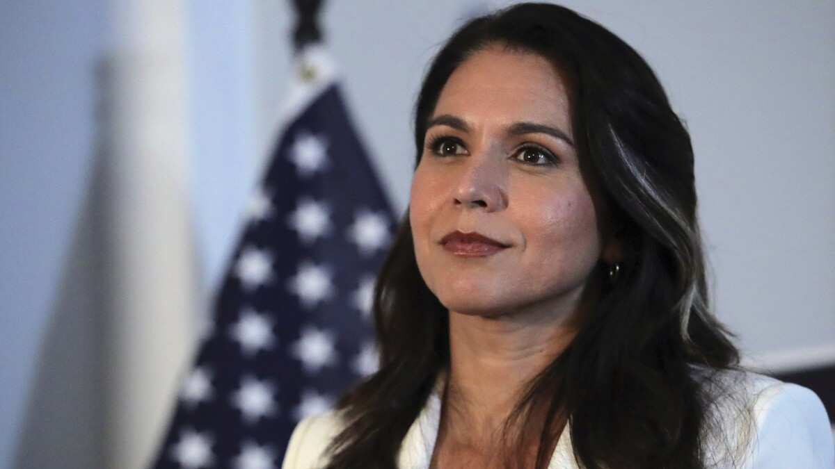 Tulsi Gabbard is the only level head on impeaching Trump