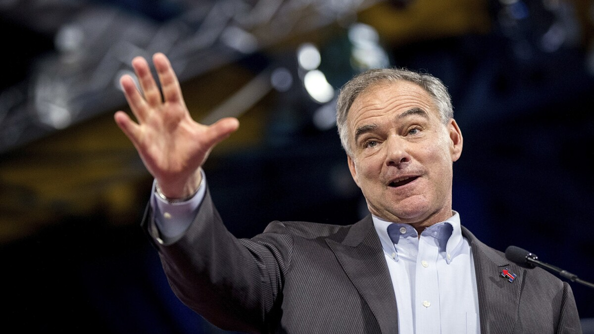 Tim Kaine: Trump's 'go back' tweets violate federal anti-discrimination law