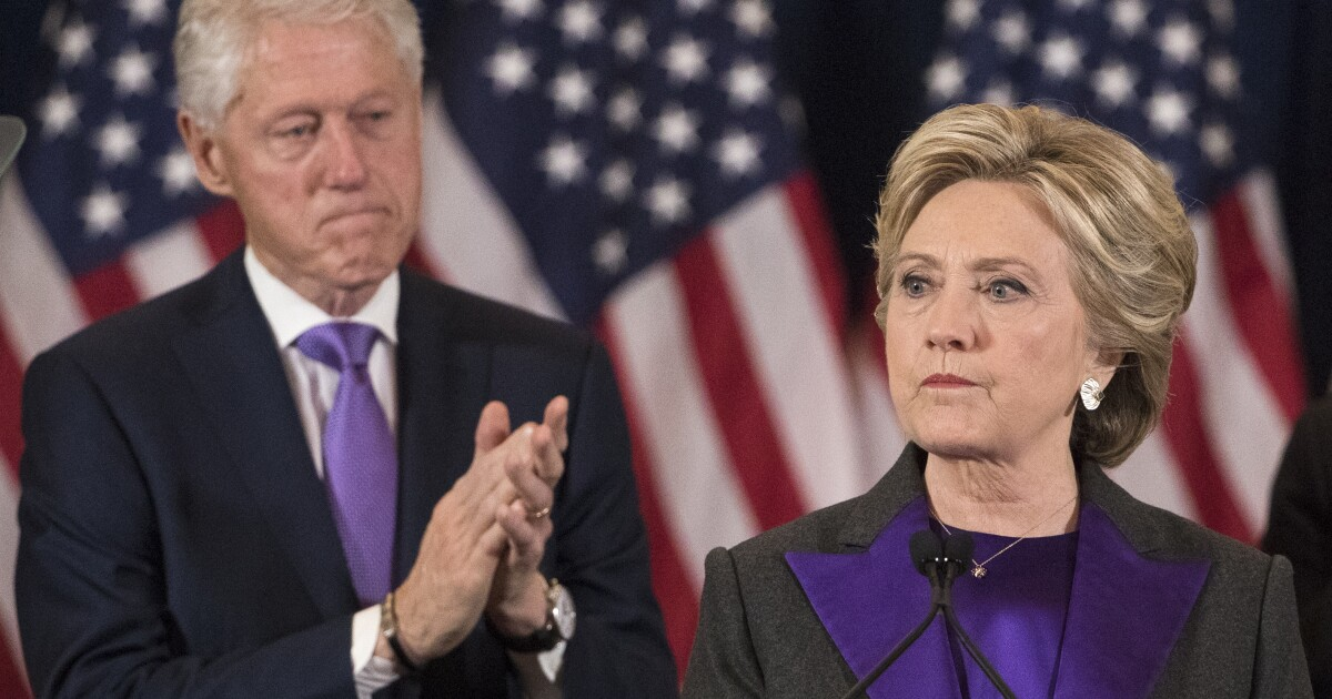 Media turn on Hillary Clinton after she exempts Bill from the #MeToo movement