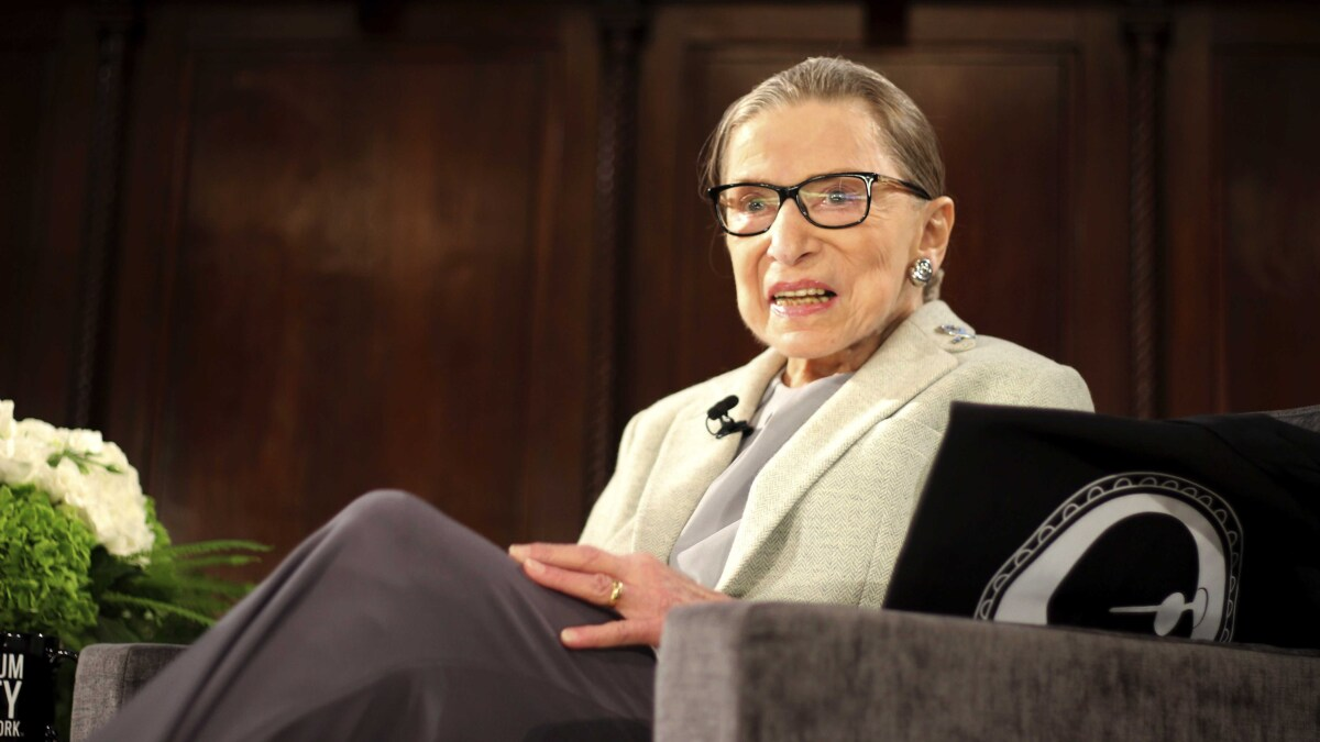 Trump 'saving' Amy Coney Barrett for Ruth Bader Ginsburg's Supreme Court seat