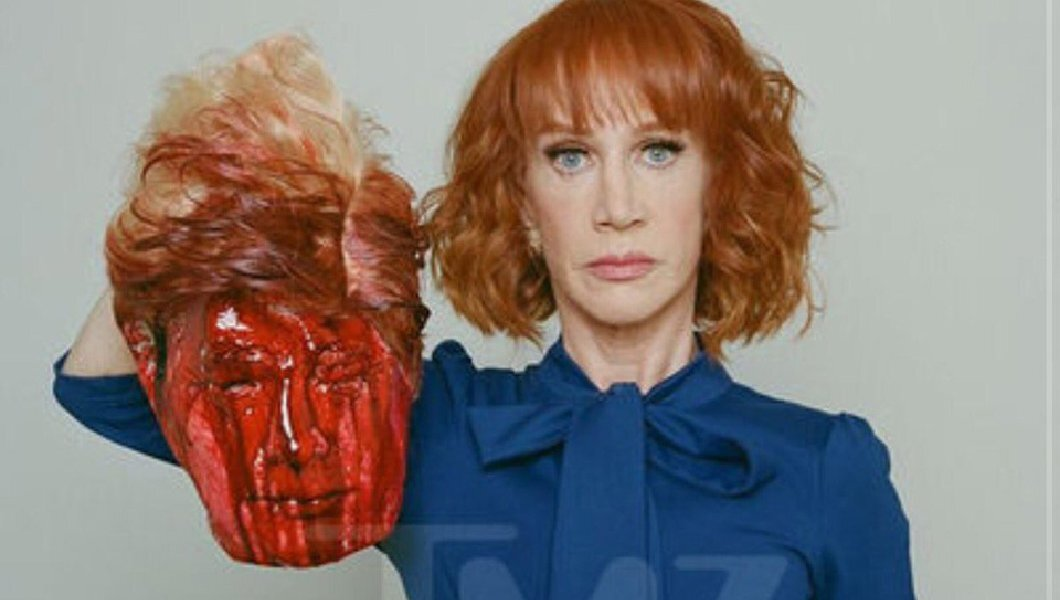 Kathy Griffin reflects on beheaded Trump photo: 'I wish I