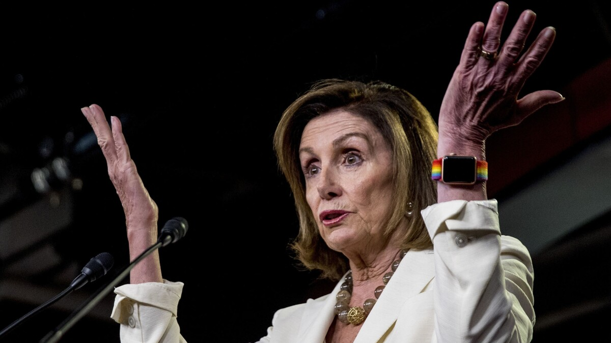 Pelosi again brakes Democrats on impeachment: 'The public isn't there yet'