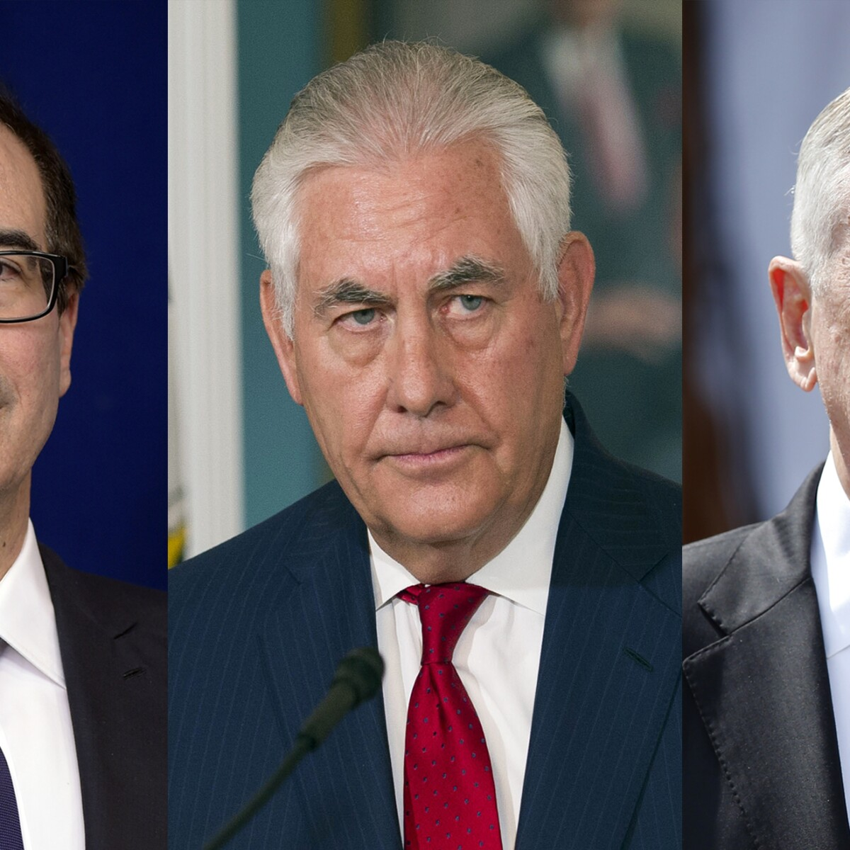 Tillerson, Mattis, Mnuchin forge 'suicide pact' in the event Trump wants one of them gone: Report