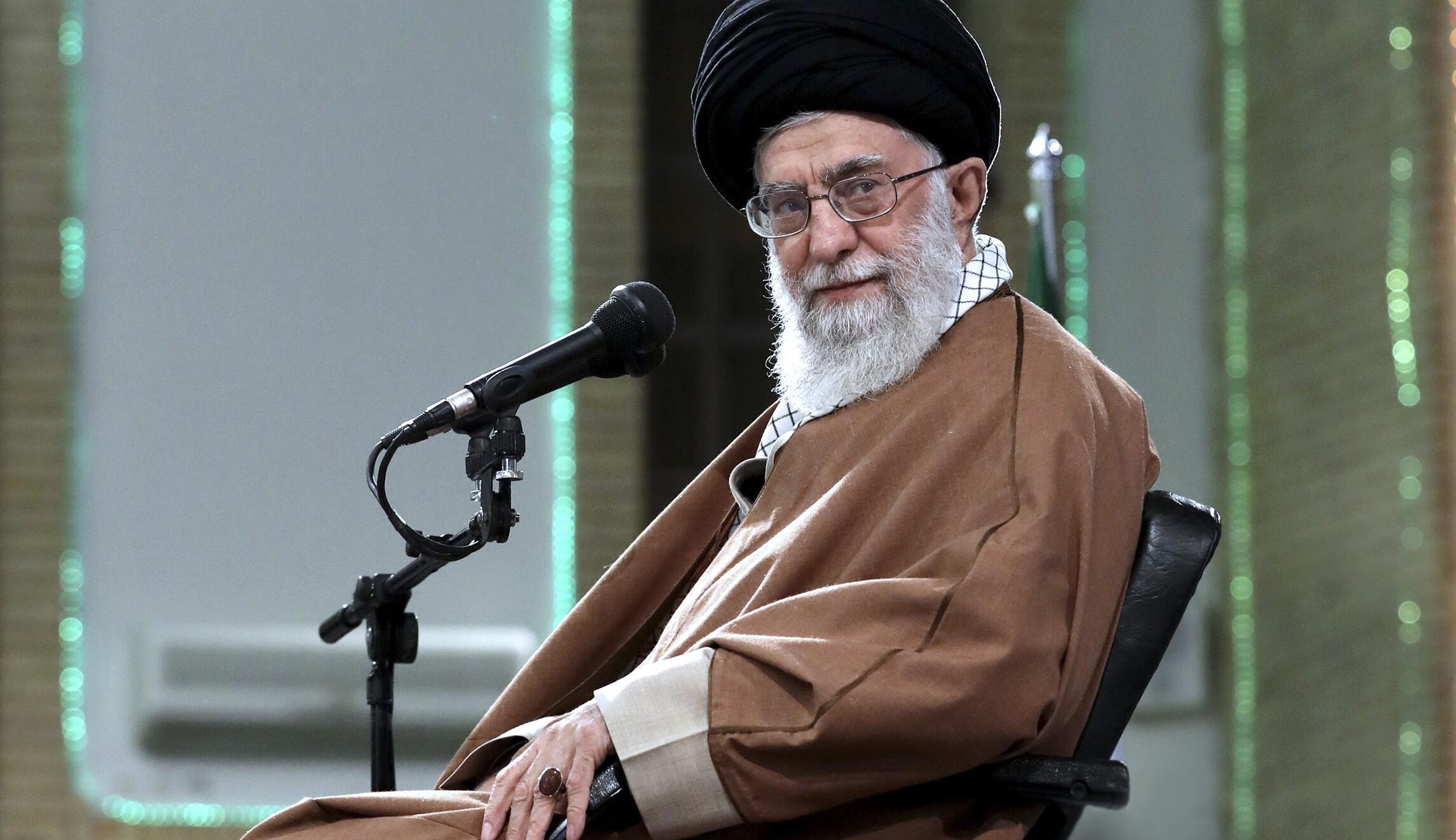 Ayatollah Ali Khamenei just ex...