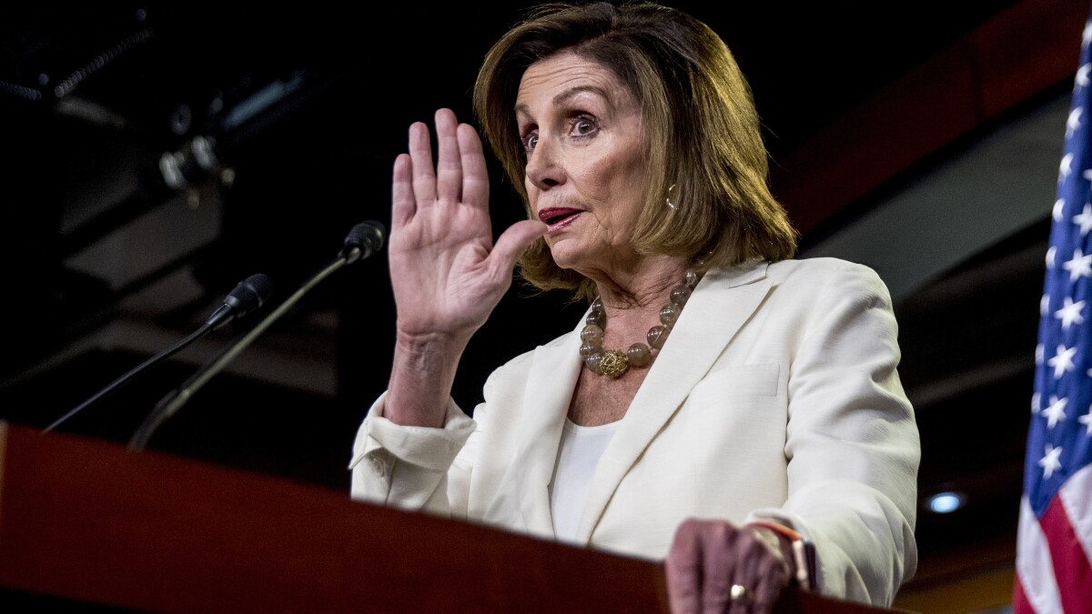 Pelosi: Trump's new asylum policy 'illegal'