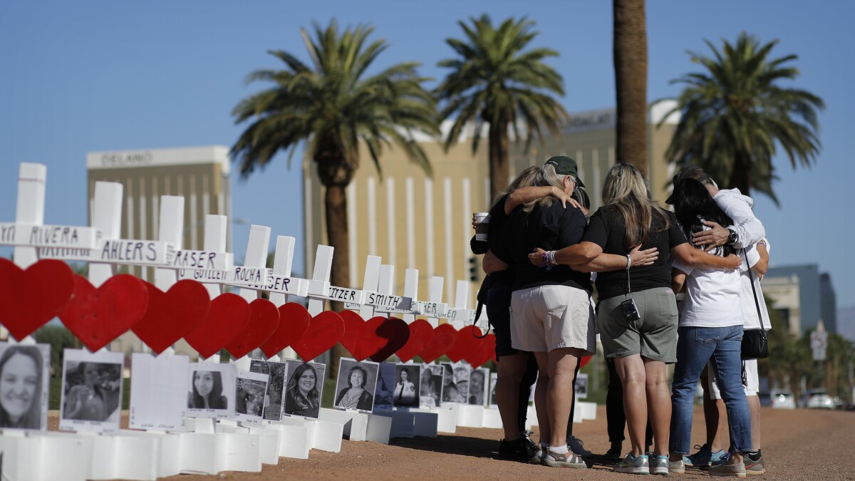 Death toll in Las Vegas shooting rises to 59 after woman succumbs to injuries two years later