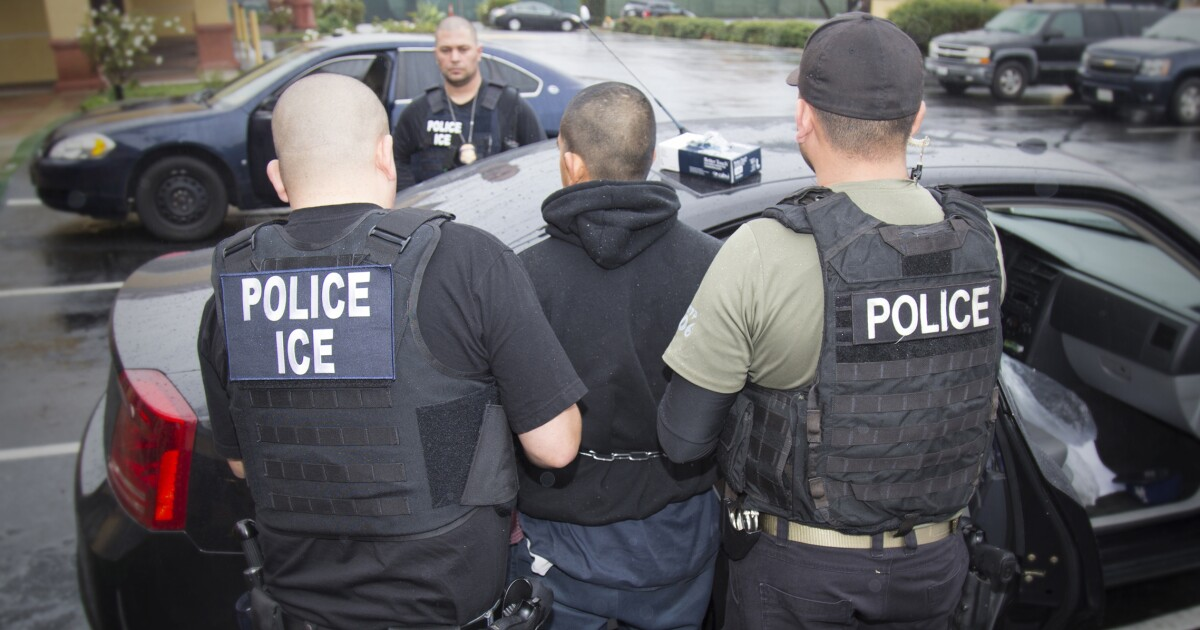 ICE arrests 105 in New Jersey