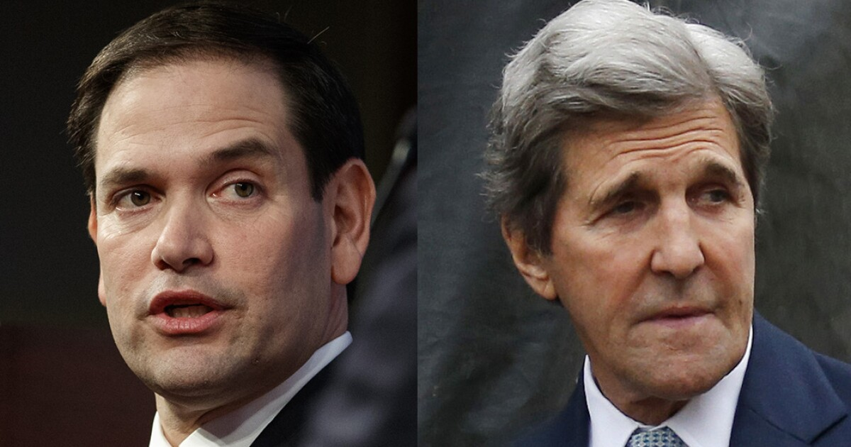 Marco Rubio calls on Barr to investigate John Kerry