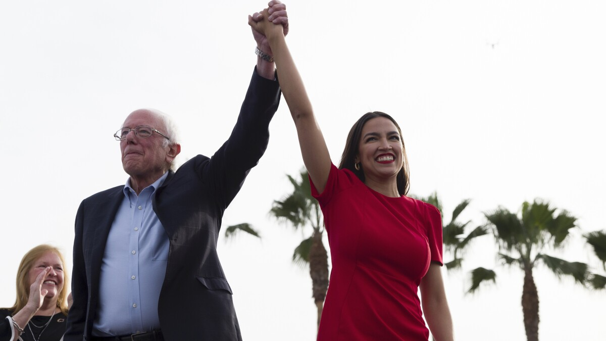 AOC rips Biden for claiming Sanders is lying: 'Some folks run as if the internet doesn't exist'