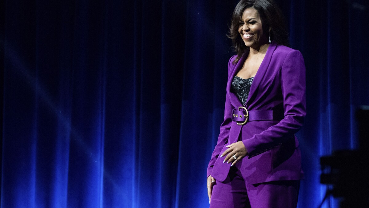 'Amazing' Michelle Obama would make a good president, family friend says