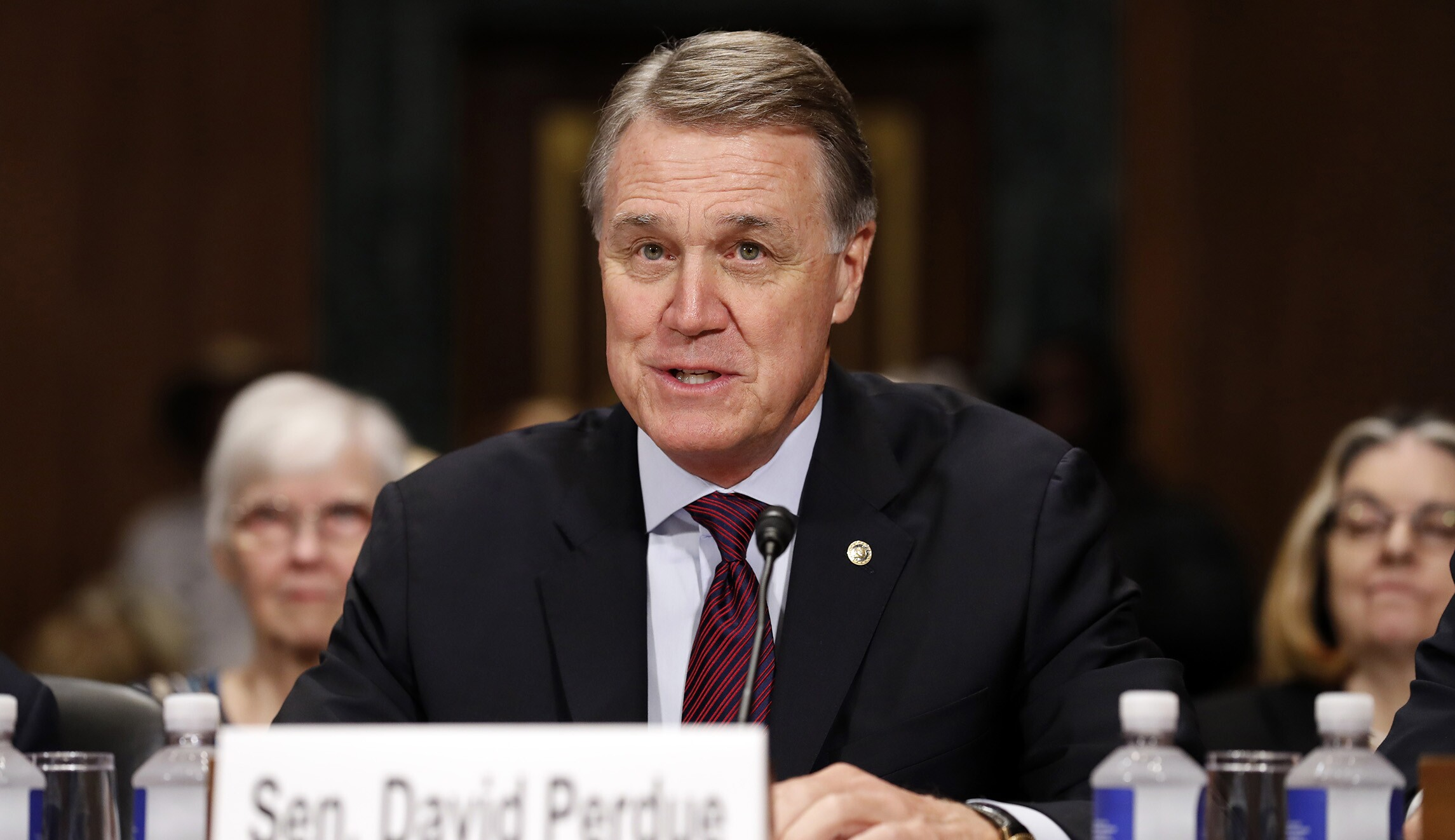 Image result for photos of senator david perdue