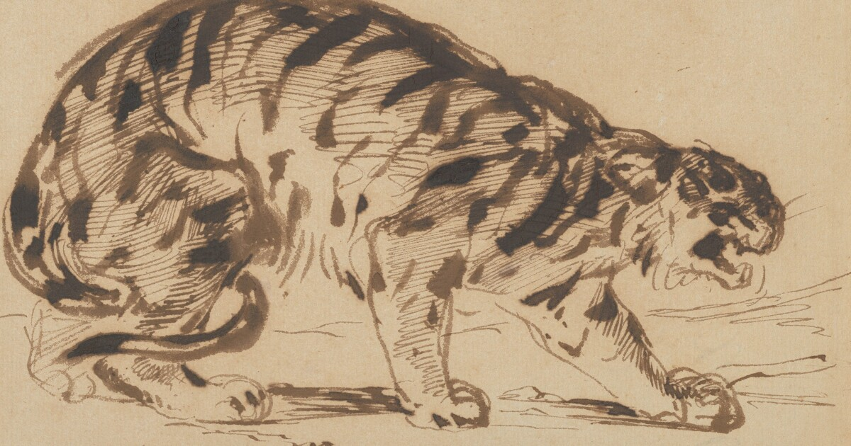 Delacroix: Revolutionary with a Pencil