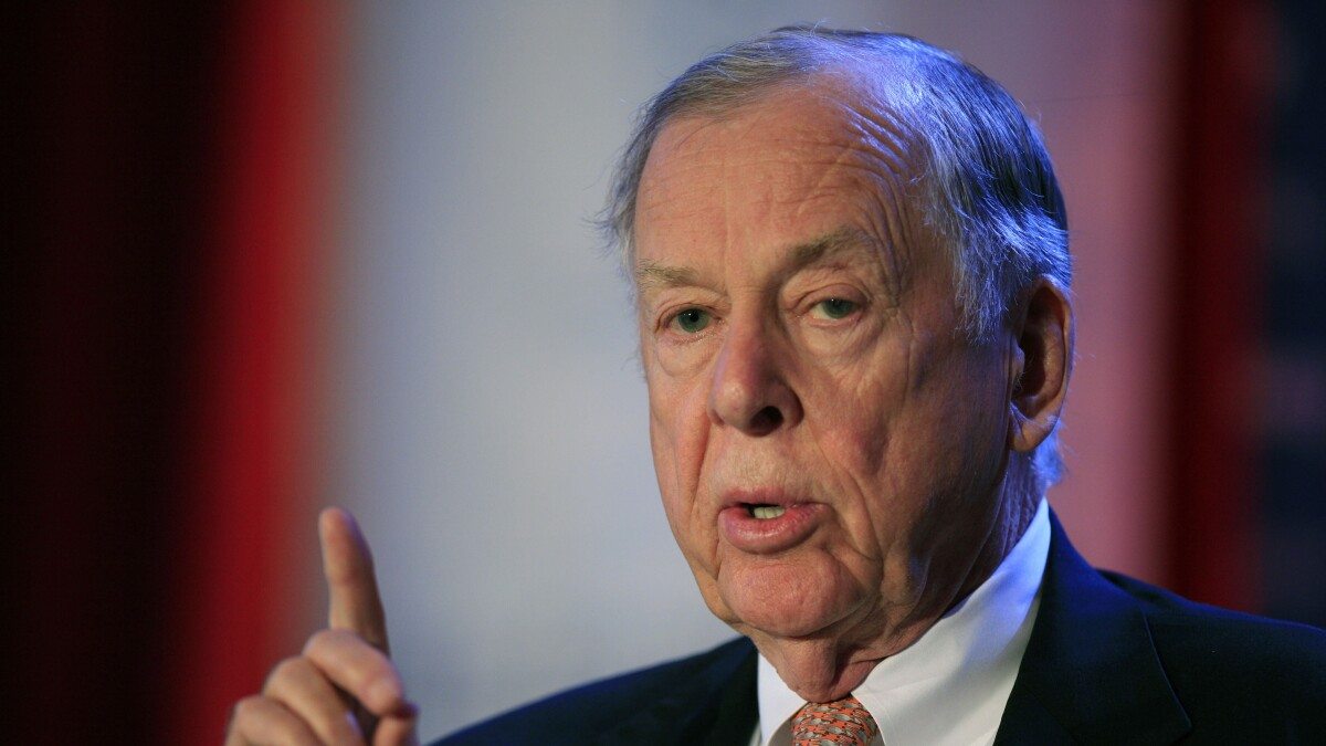 T. Boone Pickens embodied entrepreneurship as a virtue