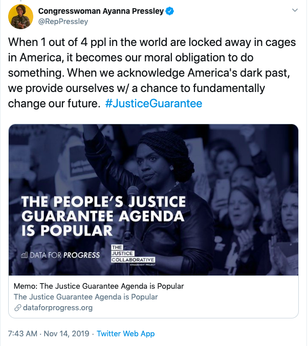 'Squad' member criticized for claiming one-quarter of world population in American prisons: 'Are we just making up math now?'