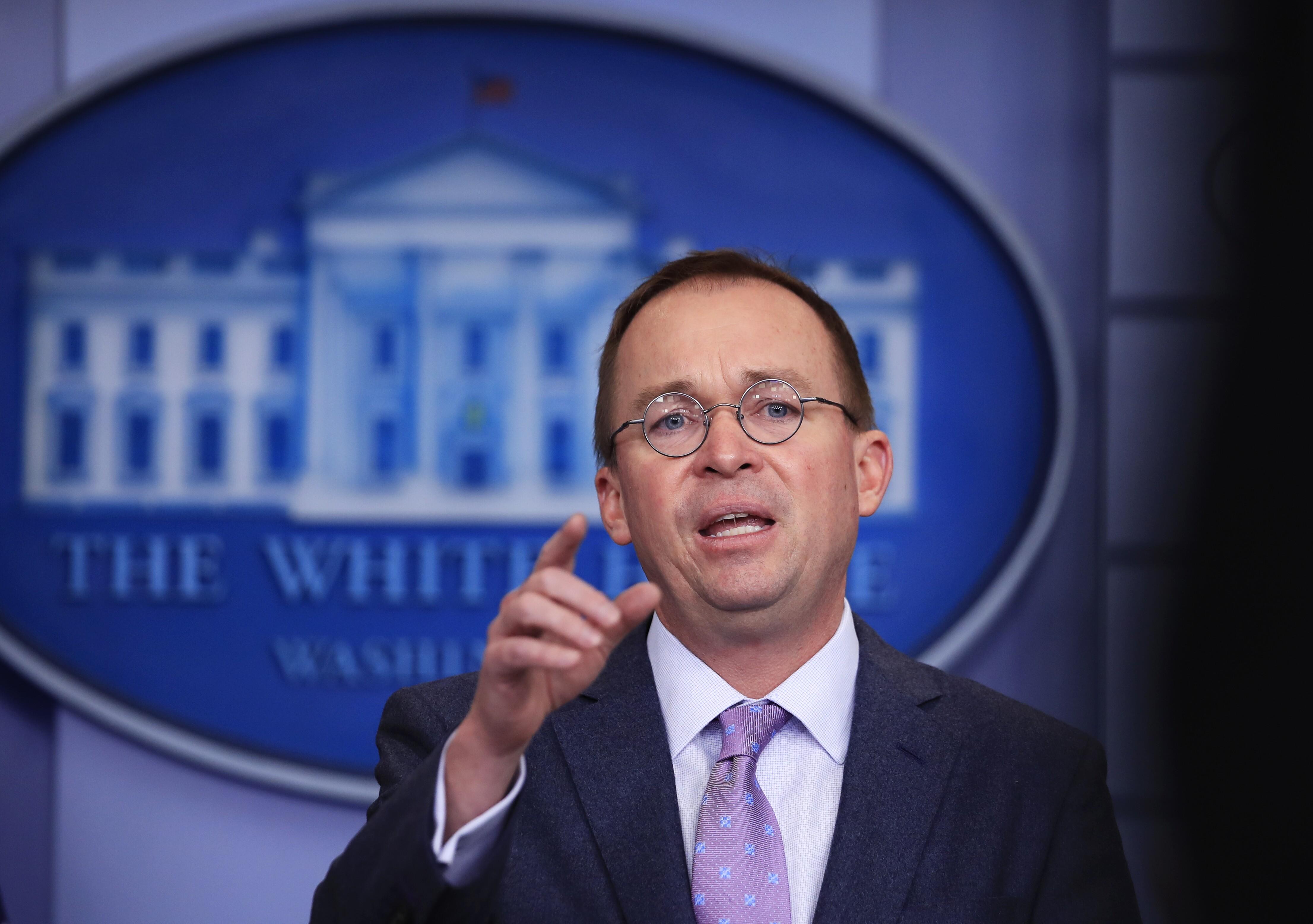 Senate Democrats warn Mick Mulvaney against repealing ...