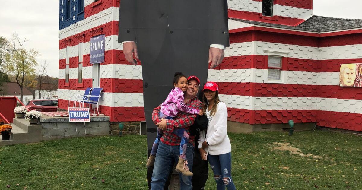 Trump House: Pennsylvania woman gives Trump fans sense of belonging, hope of victory
