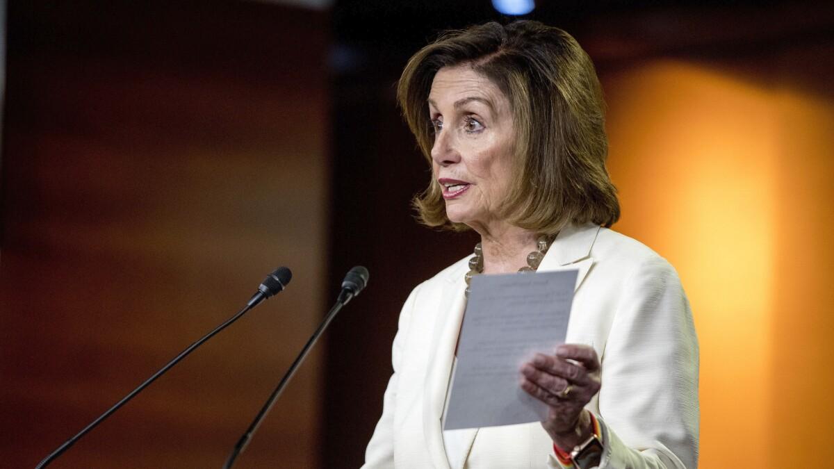 Nancy Pelosi unveils 95% tax proposal on prescription medicines