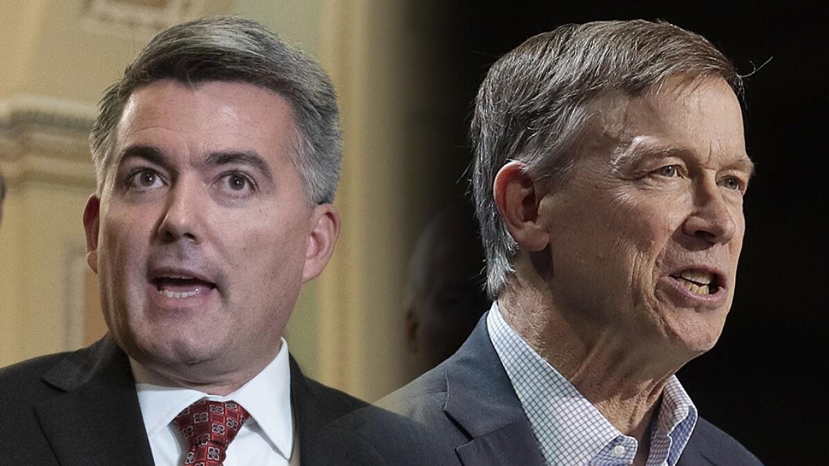 Gardner's tenuous hold on Colorado Senate seat may hinge on Hickenlooper