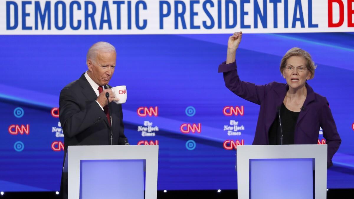 CNN did all it could to make Elizabeth Warren win the Democratic debate