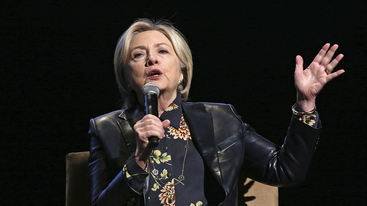 Hillary Clinton: Europe needs to cut immigration flows to stop right-wing populism