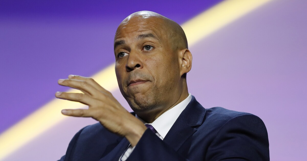 Booker says he was on Hillary Clinton 'final list' for vice president in 2016