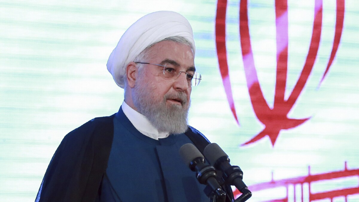 Rouhani's ridiculous rejection of Trump's overture