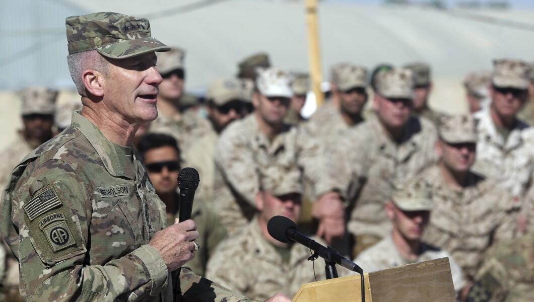 John W. Nicholson Afghani