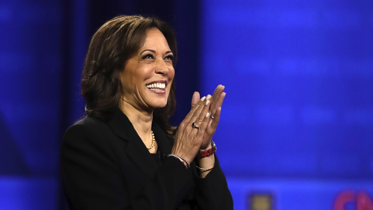 'You wouldn't know a joke if one raised you': Kamala Harris hits back after Donald Trump Jr. mocks her laugh