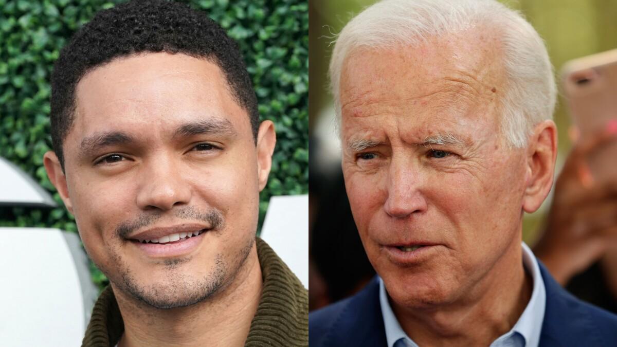 'The only candidate who remixes his speech': Trevor Noah roasts Joe Biden for verbal stumbles