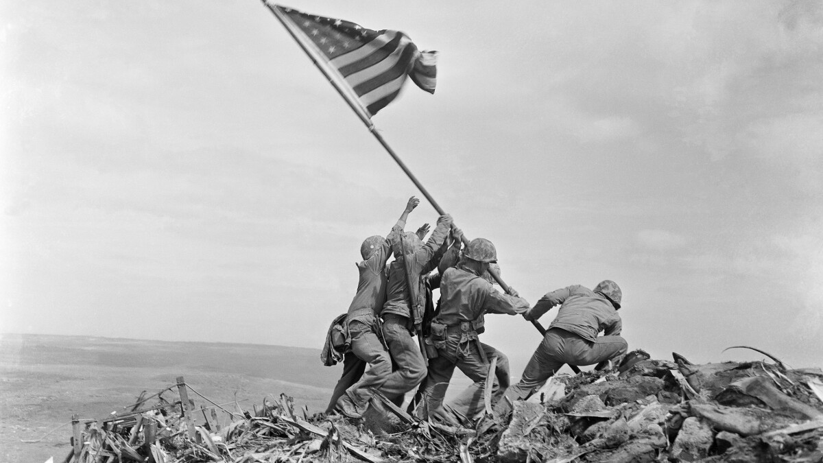 Historians say Marine that posed for Iwo Jima statue actually not in famous photograph