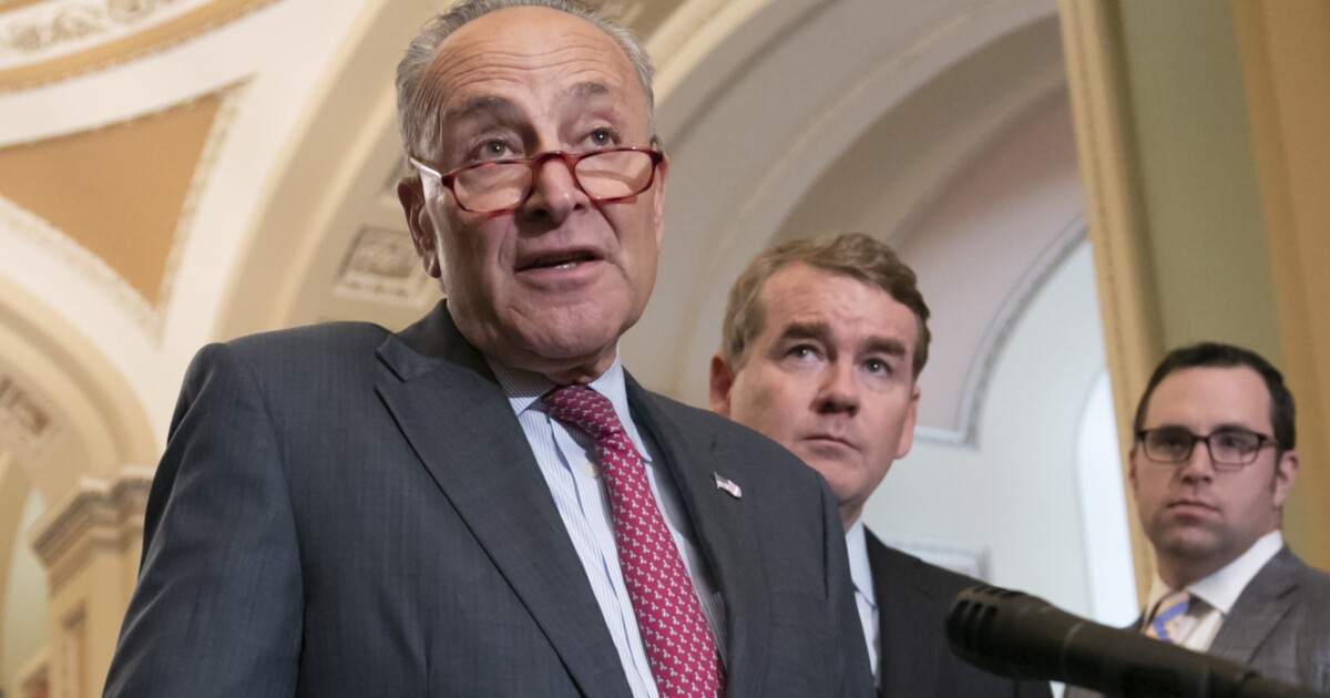 Senate Minority Leader Chuck Schumer Indicated Tuesday That Democrats Could Decide To Move The Threshold For Confirming A Supreme Court Justice Back